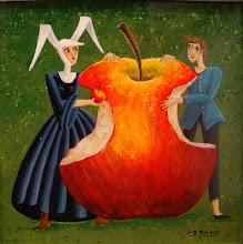 """Photo: """"Croquer la Pomme""""  Carole Perret"""
