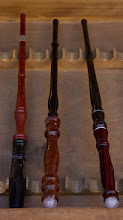 Photo: Another example of some turned wands.