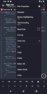 Acode – powerful code editor v1.2.143 [Paid] 2