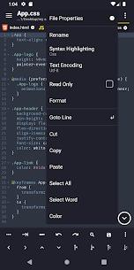 Acode – powerful code editor APK 2
