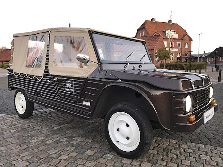 Citroën Mehari Hire Saint Pantaleon De Larche