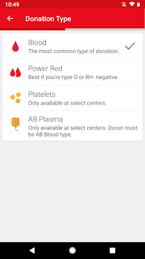 Blood Donor screenshot 2
