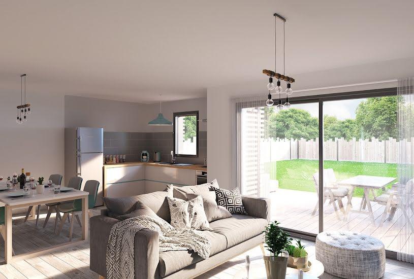 Vente Terrain + Maison - Terrain : 444m² - Maison : 89m² à Pontchâteau (44160)