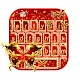 Royal Red Butterfly Keyboard Theme (app)