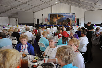 Photo: Ladies luncheon, Norma Preston