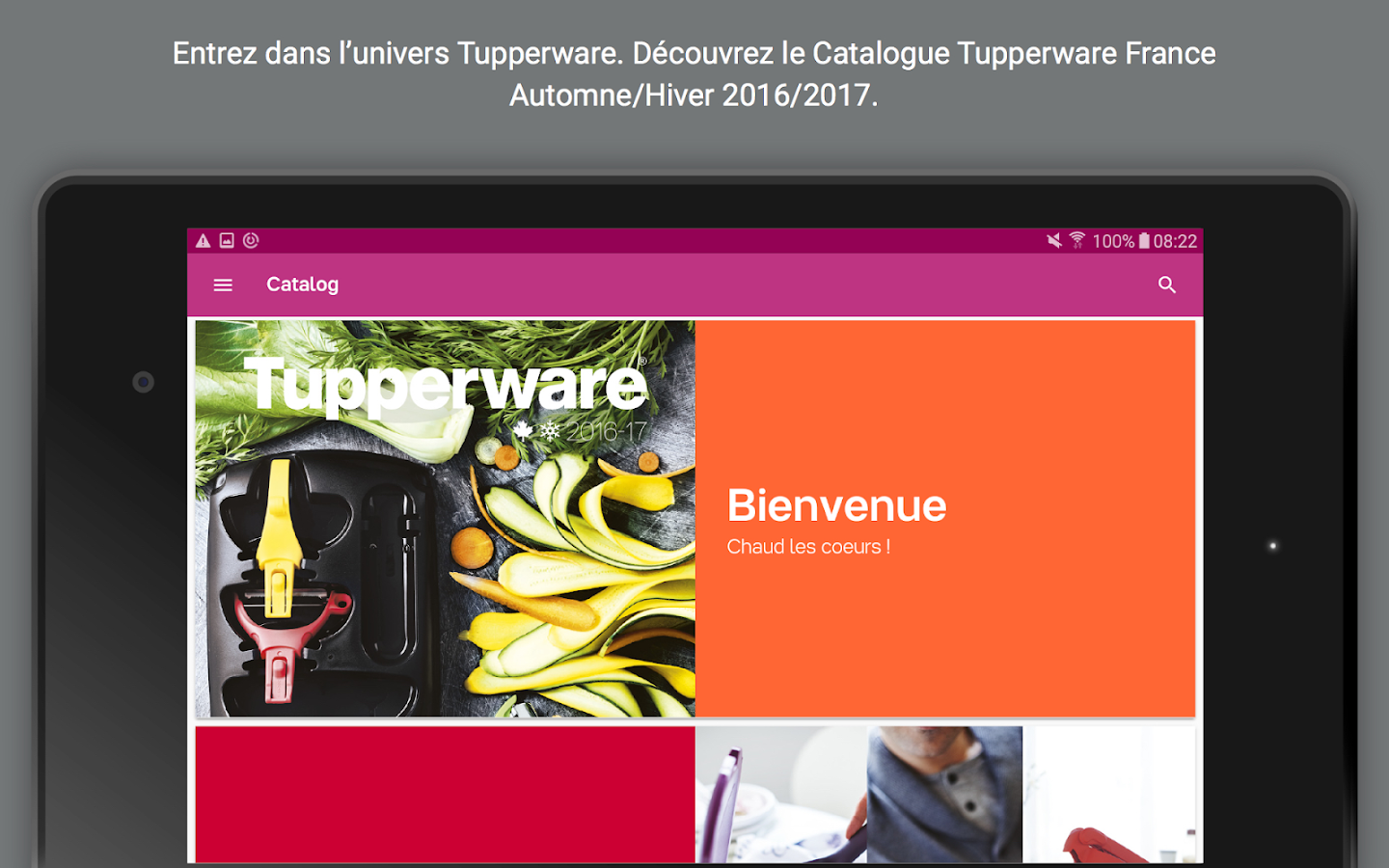 Catalogue Tupperware- screenshot