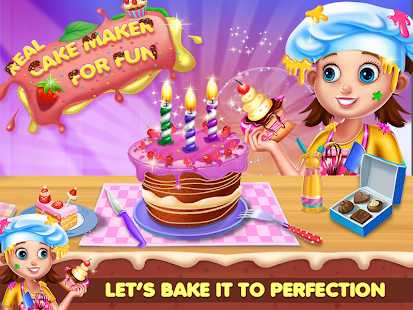Tải Game Real Cake Maker For Fun