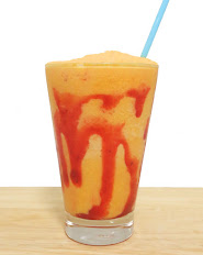 Mango Strawberry Ice Blended
