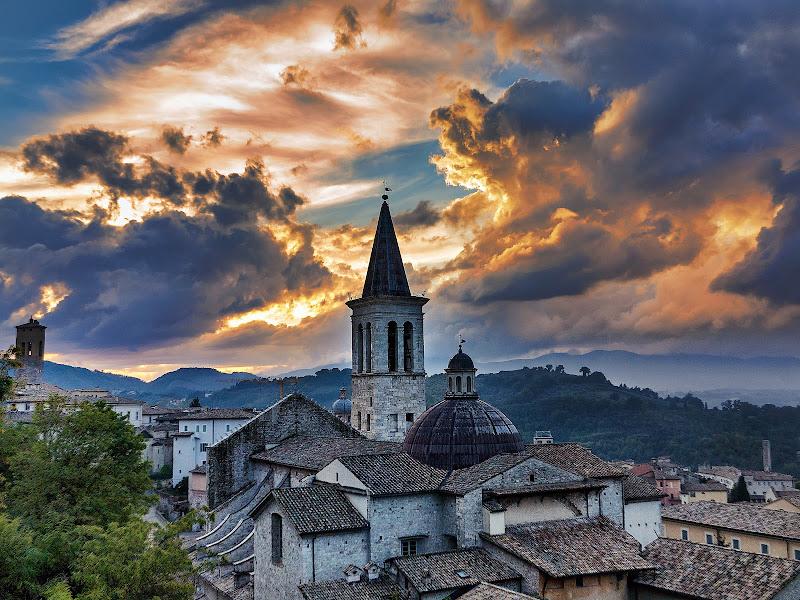 Dopo un temporale a Spoleto di maurizio_varisco