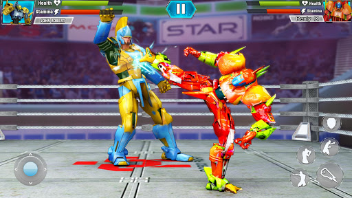 Robot Wrestling 2019: Multiplayer Real Ring Fights apkpoly screenshots 3