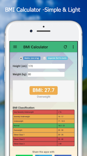 BMI Calculator - Easy & Simple screenshot 2