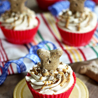 "Peanut Butter Ice Cream ""Pupcakes"""