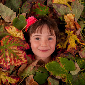 leaves by Lucien Vandenbroucke - Babies & Children Child Portraits (  )