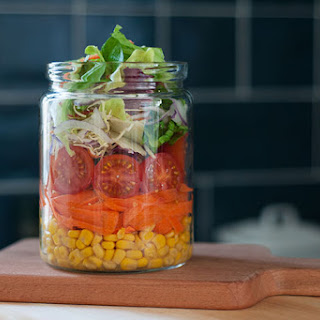 The 21-Day Weight Loss Breakthrough Diet Container Salad.