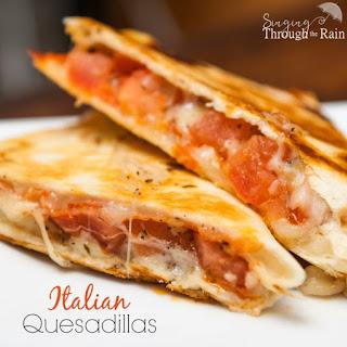 Italian Quesadillas.