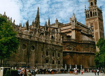 Seville Cathedral - Giralda <br> 10-minute walk