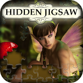 Hidden Jigsaw: Angels and Fairies