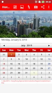 Hong Kong Calendar 5