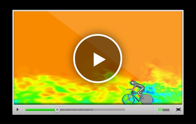 ознакомиться с видео, рассказывающем об опыте команды Blocken по проведению расчётов аэродинамики для задач профессионального велоспорта с использованием сервиса ANSYS Cloud