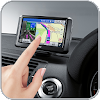 GPS route guider: Terre carte