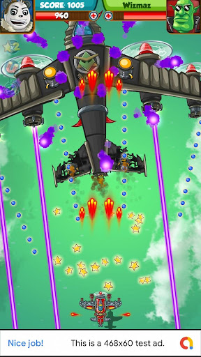 Télécharger Panda Air Space Commander APK MOD (Astuce) screenshots 1