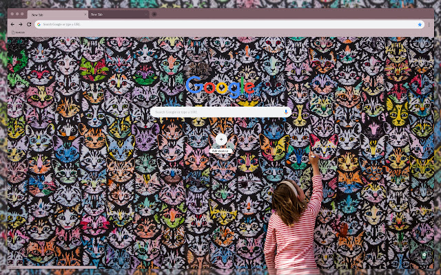Wall of cats