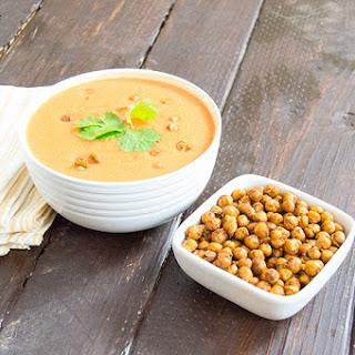 Moroccan Spiced Roasted Chickpeas.