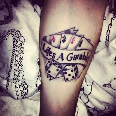 Lifes a gamble. Image source: Pinterest