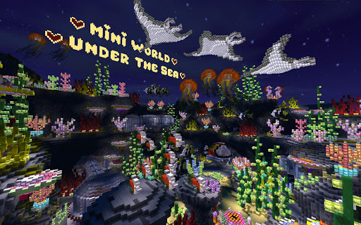Mini World: Block Art screenshot 9