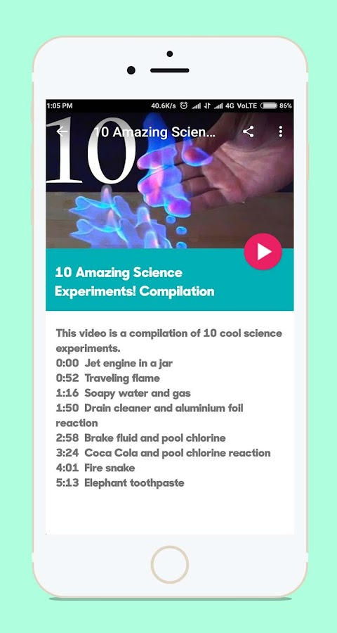Kids Science Experiments- screenshot
