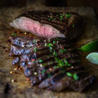 The Tastiest Grilled flat iron steak {gluten free, paleo option}.