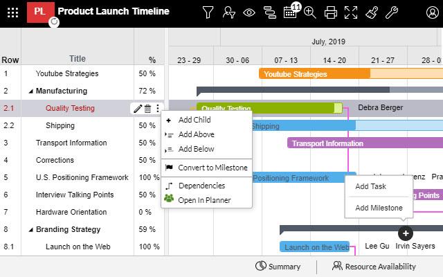Apps4 Pro Plannergantt