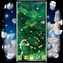 Falling Rain Live Wallpaper 🌧️ Rain  Wallpapers icon