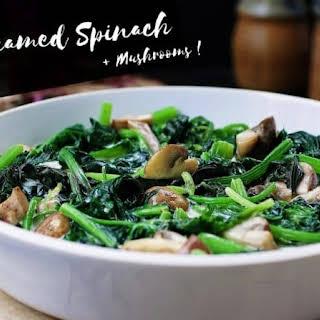Paleo Creamed Spinach.