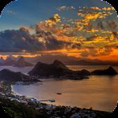 Sunset In Rio de Janeiro