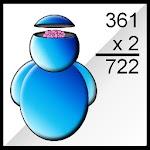 Brain Calculus Icon