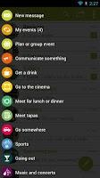 Screenshot of TWIN Free SMS