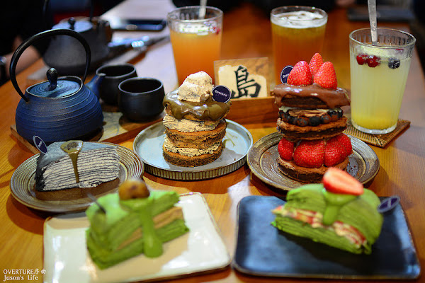 台中下午茶,審計新村人氣甜點店,推薦抹茶及鐵觀音千層蛋糕。OVERTURE序曲審計366
