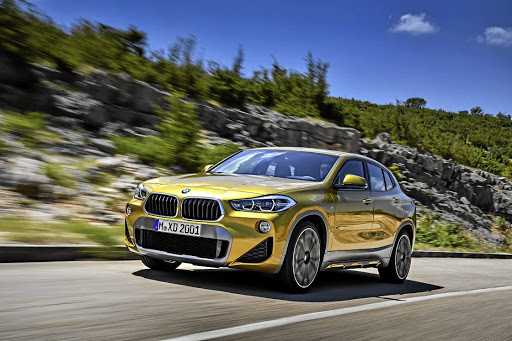 The BMW X2 crossover will arrive on our shores early in March