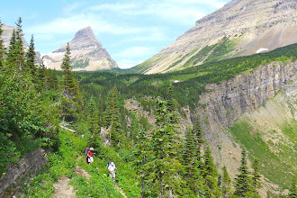 Photo: Stony Indian Pass in the background