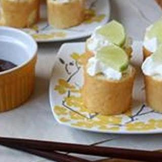 Key Lime Dessert Sushi.