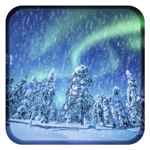 Aurora Winter Live Wallpaper Icon