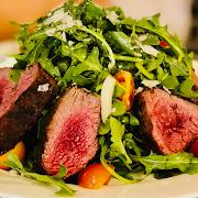 Tender Grilled Steak & Arugula