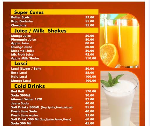 Hotel Kunal menu 8