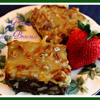 German Chocolate Brownies!