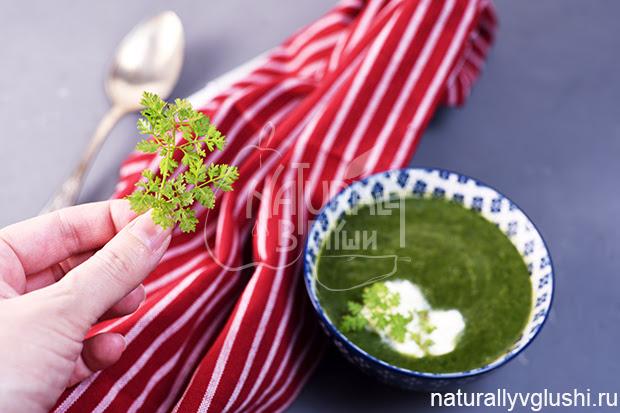 Суп с кервелем | Блог Naturally в глуши