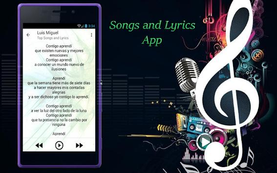 Download Luis Miguel Letras d Canciones APK latest version app for ...