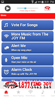 Screenshot of The JOY FM Alabama