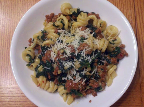 Sausage & Kale With Pasta Recipe