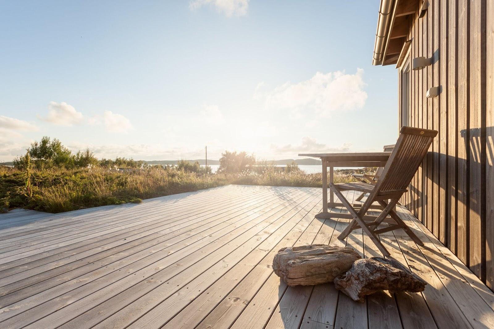 Echtholz für Terrassen